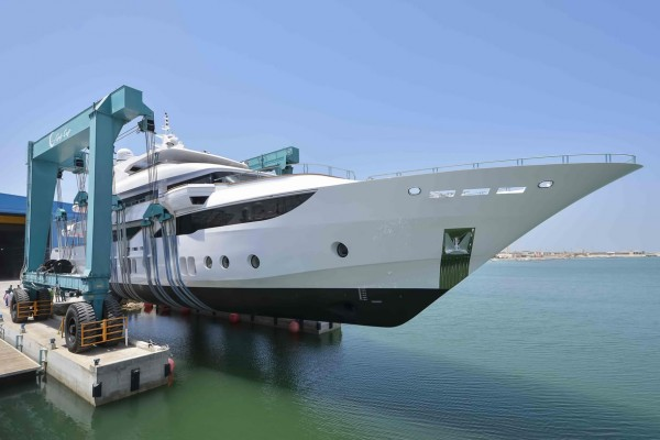 Launch of the new Majesty 155 Super Yacht
