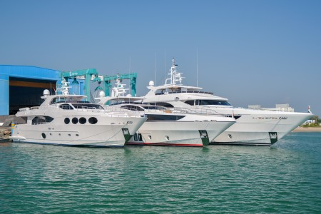 Gulf Craft Launches Three Superyachts in One Week