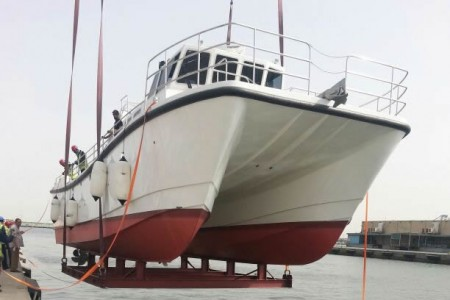 Al Boom Marine Launches Laboratory Vessel for KISR